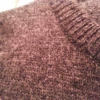 Fétichisme des pulls en laine